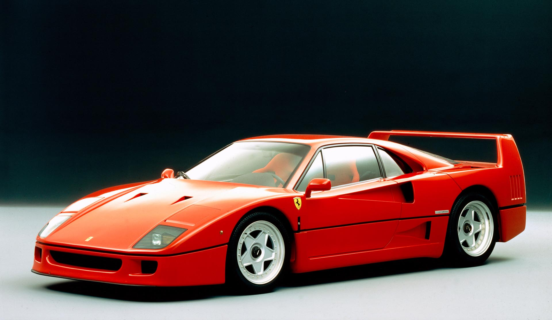 Fitted with the same twin-turbo heart as the 288 GTO, the F40 was essentially a racecar for the road.
