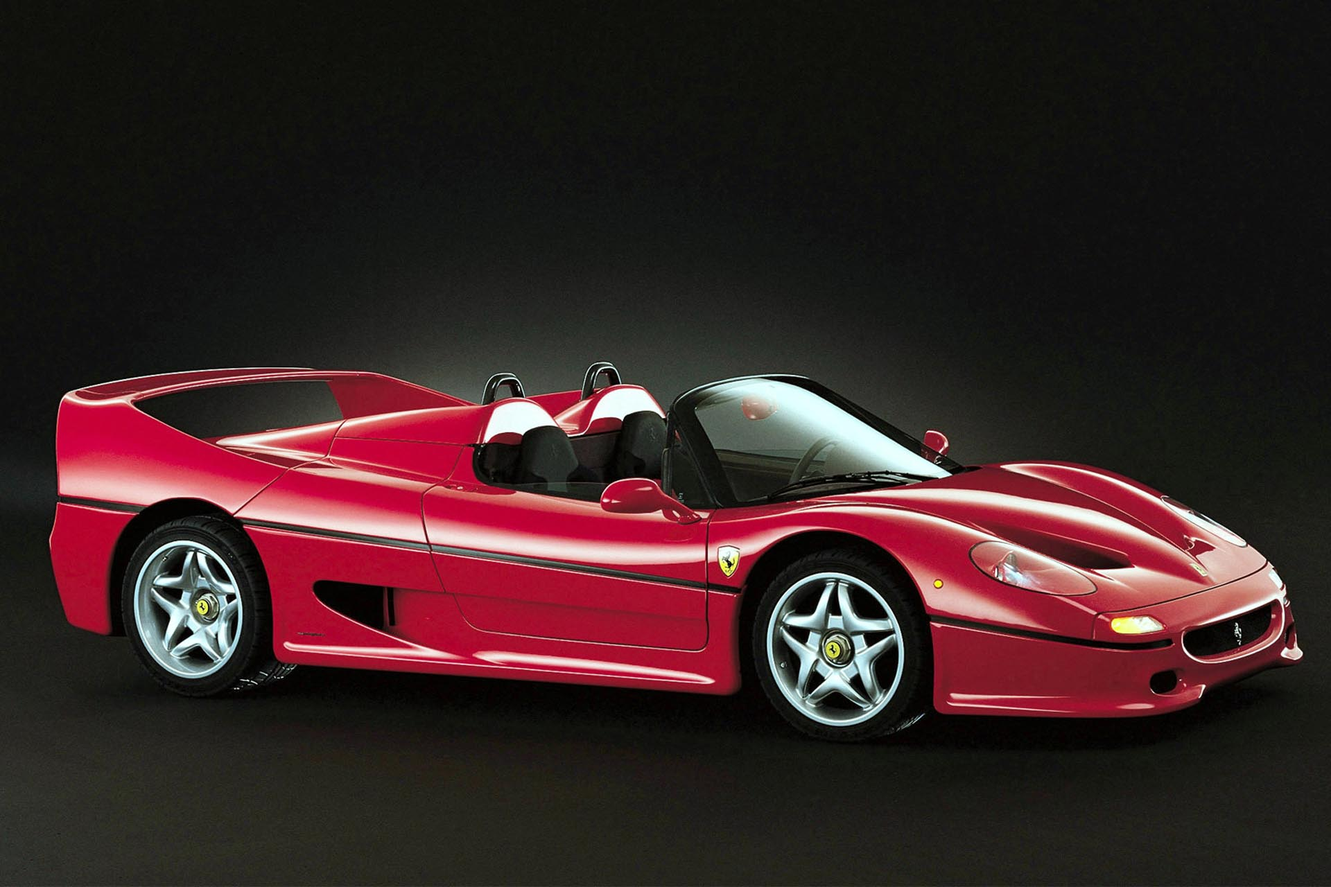 If modern supercars employ all sorts of electronic trickery to keep unskilled drivers from stuffing it into a ditch and are filled with sumptuous luxury fittings, the F40 is the exact opposite of that ethos. It is the anti-Veyron, a no-carpets Kevlar confection with exposed seams and way too much power.