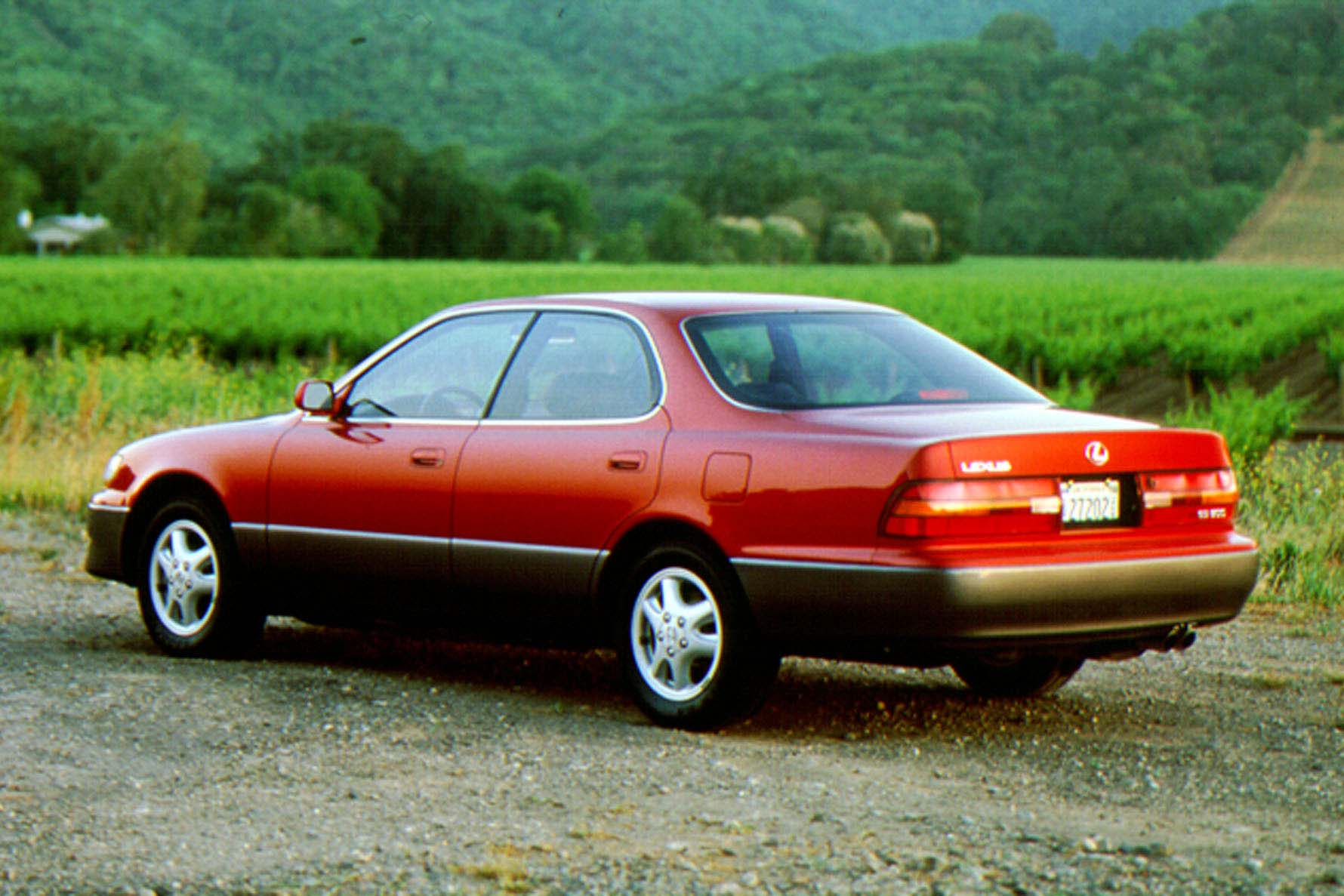 Essentially, the ES350 was a rebadged Camry: front-wheel-drive, 3.0L V6, lots of leather. That's not exactly groundbreaking stuff, but it was what the customer wanted, a proven and reliable ride with a slightly more advanced suspension, quieter ride, and modestly more upscale feel.