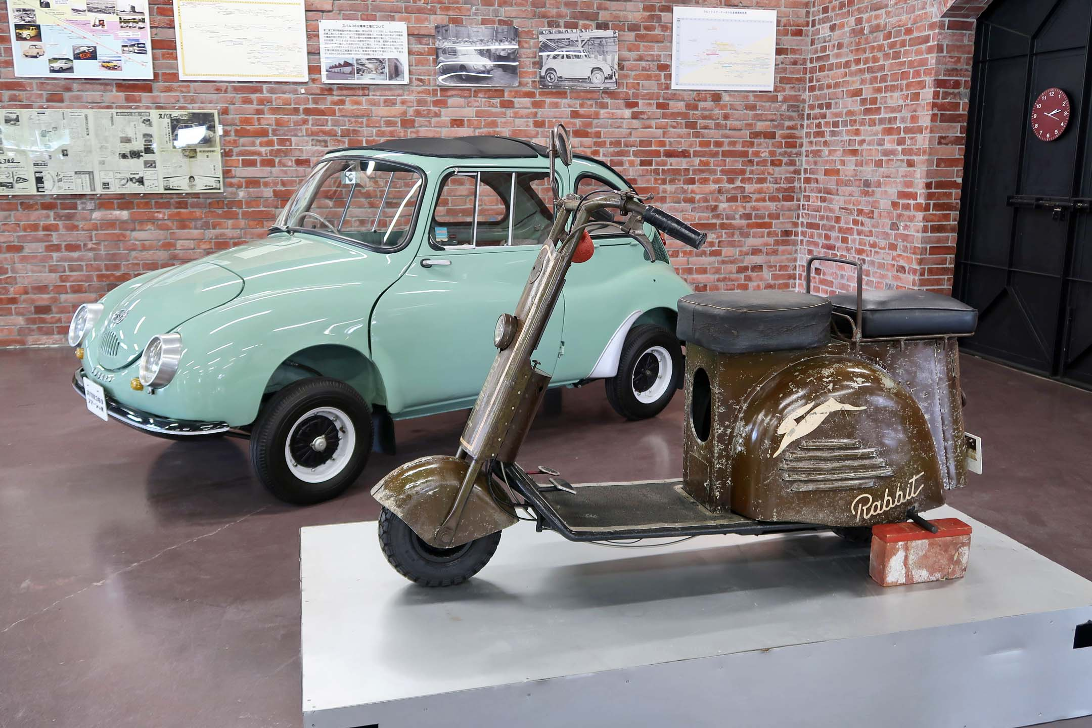 Subaru's first products, the Rabbit and 360