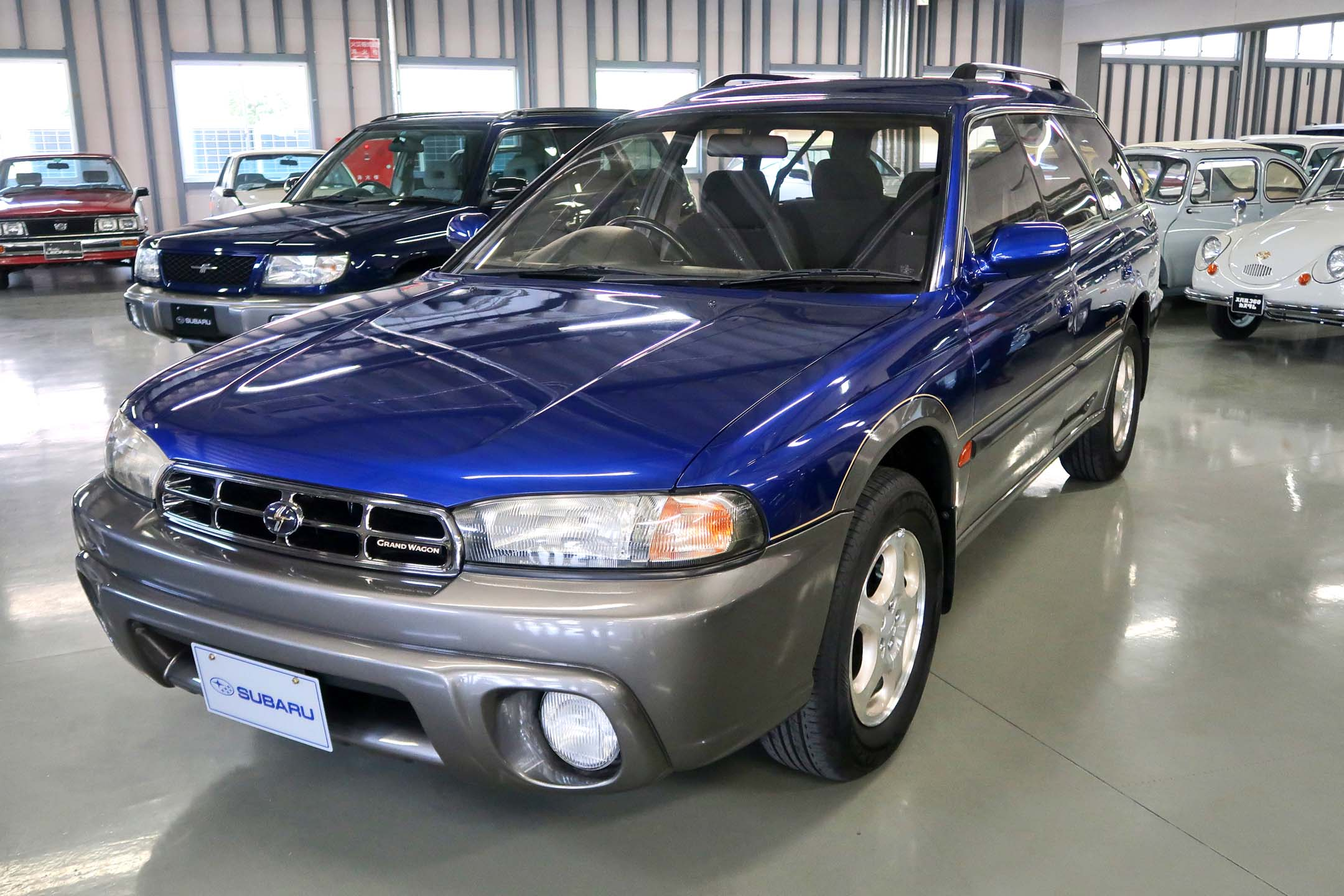 The Legacy Grand Wagon was named the Outback for overseas markets