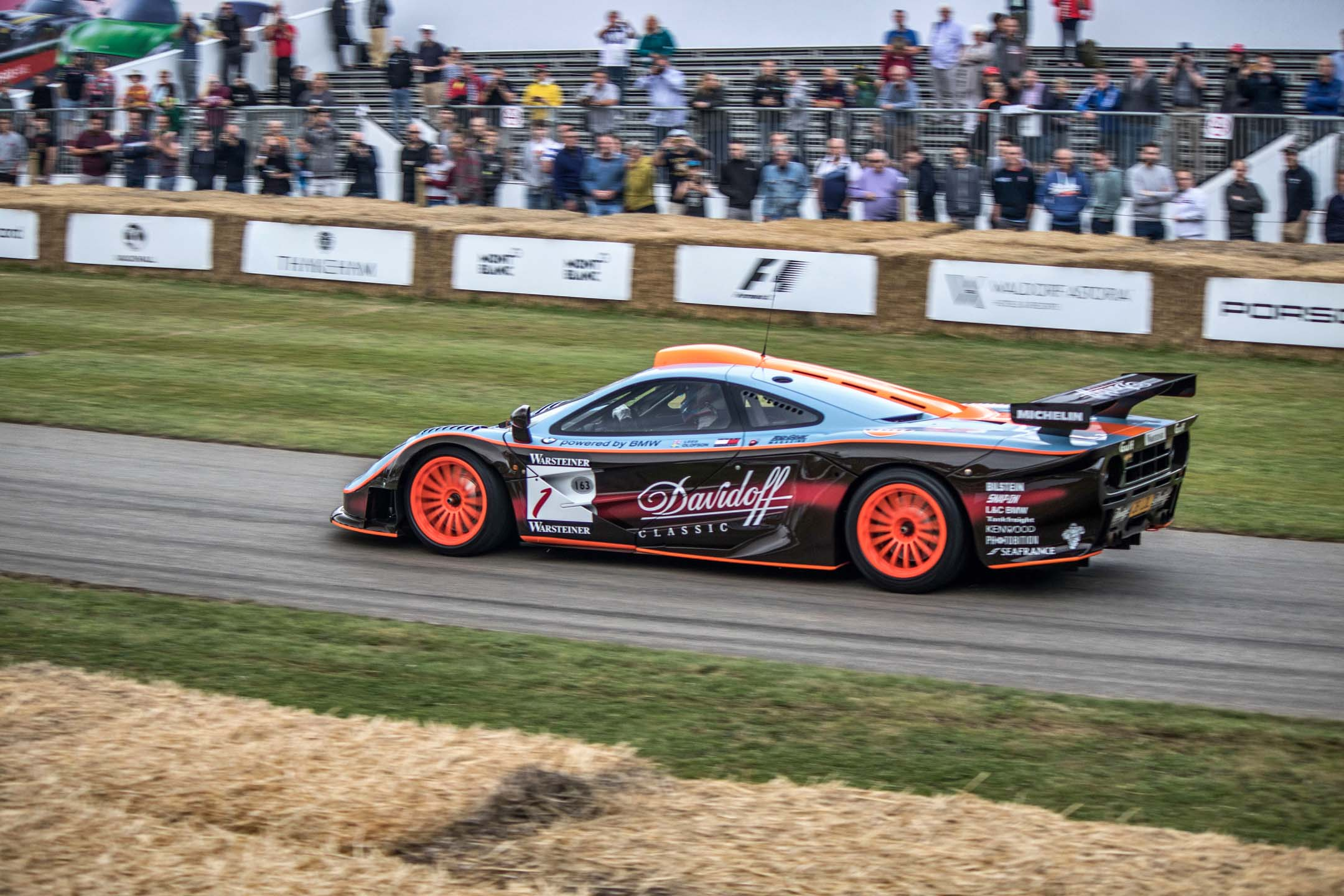 Here's one: the McLaren F1 GTR longtail. The McLaren F1, also turning 25 this year, is perhaps the purest road-going supercar ever built. This is the racing evolution of the breed, as competed at Le Mans in 1997.