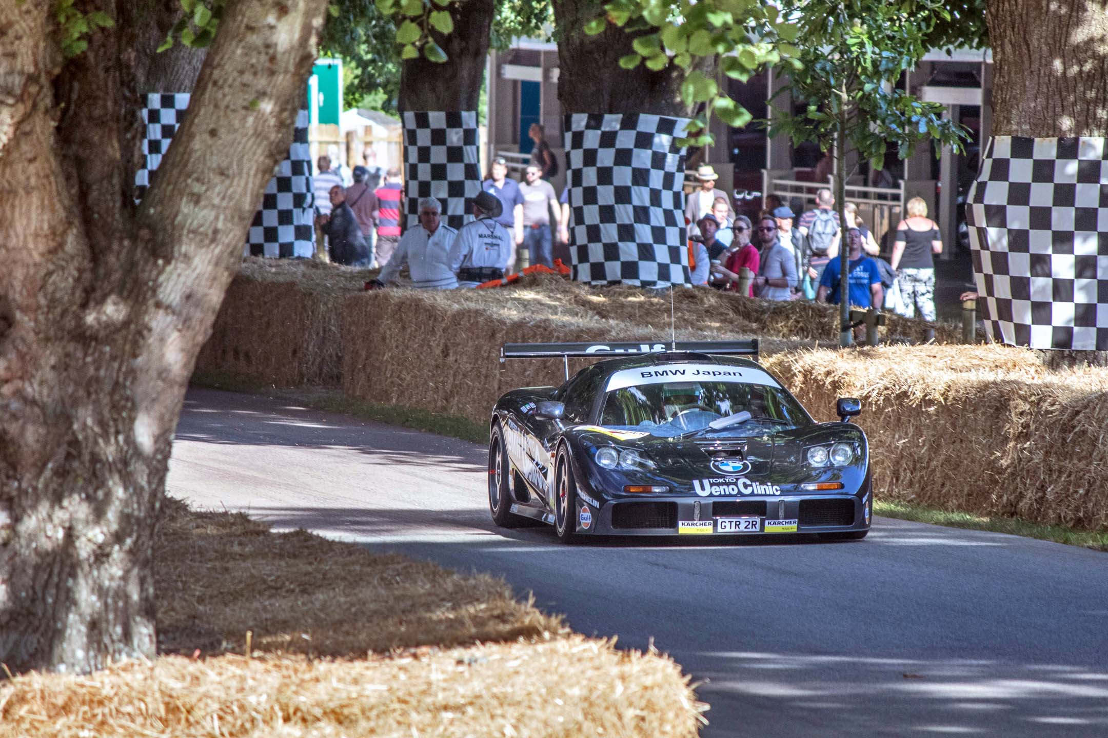 When the McLaren F1 debuted as a road car, it was so fast it ended up beating all the prototypes to win Le Mans over all. Twenty-five years later, it's still an epic machine, and embodies all the best of British spirit that makes Goodwood possible. Tally ho, chaps – onwards to another twenty-five years of speed.