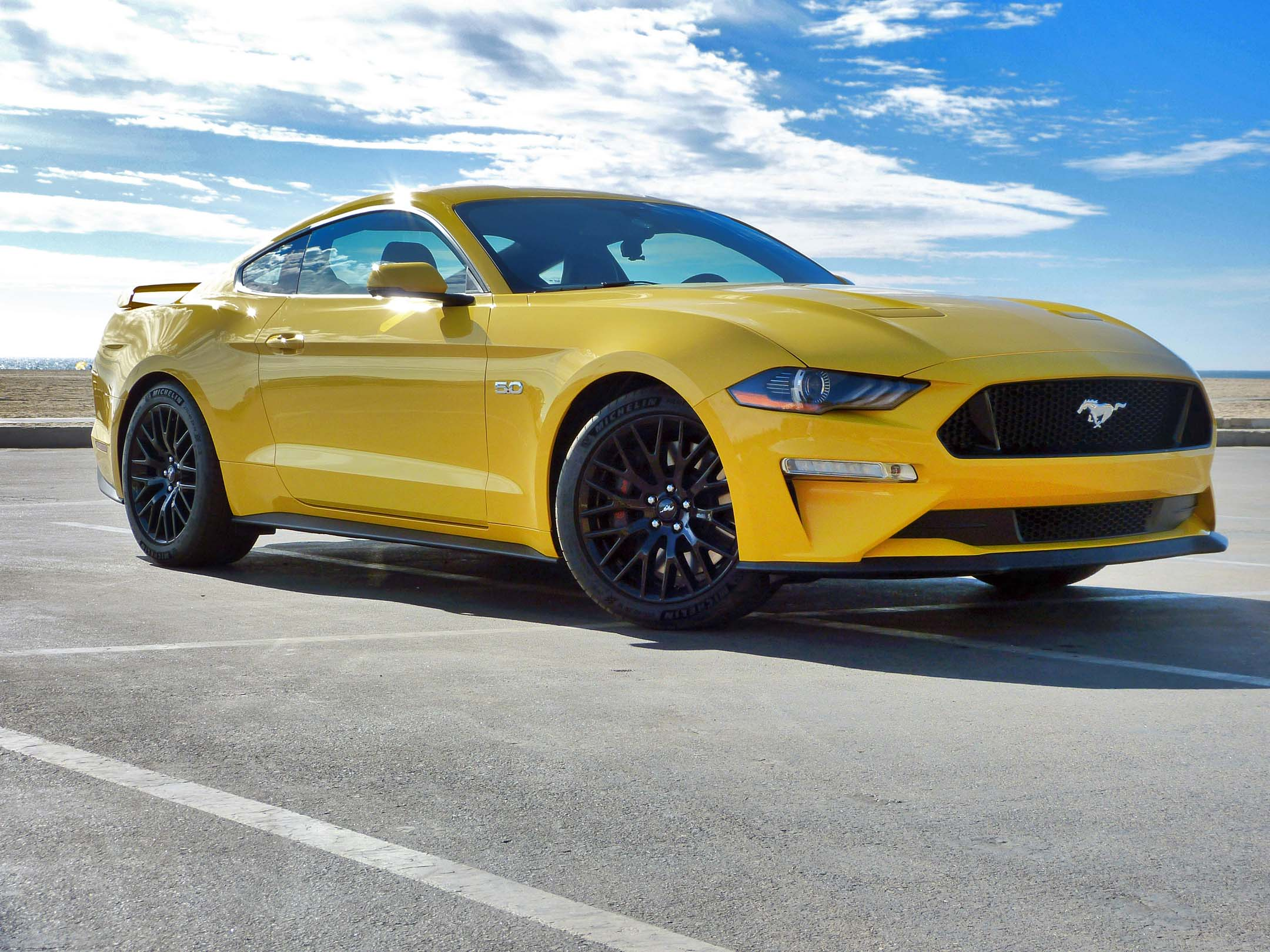 First Drive  Ford Mustang
