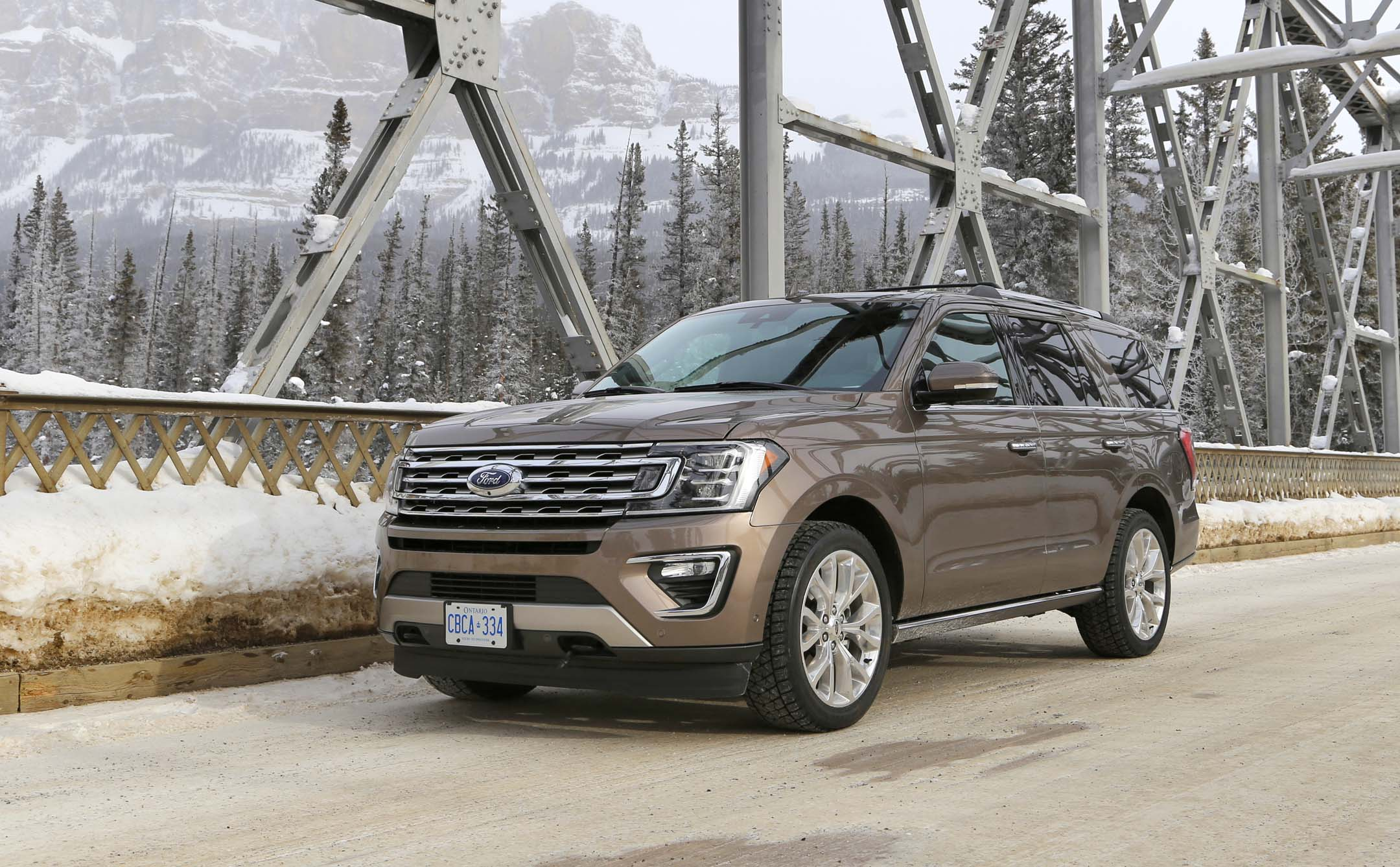 First Drive  Ford Expedition In Alberta