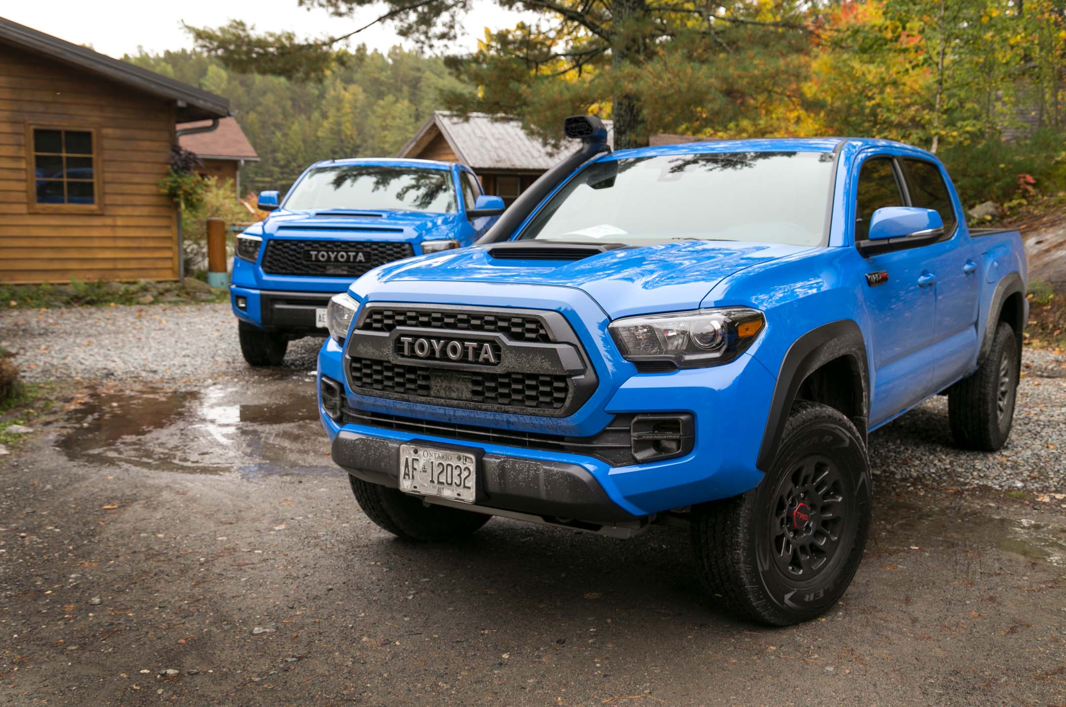 2019 Toyota Tacoma Tundra 4runner Trd Pro First Drive Review