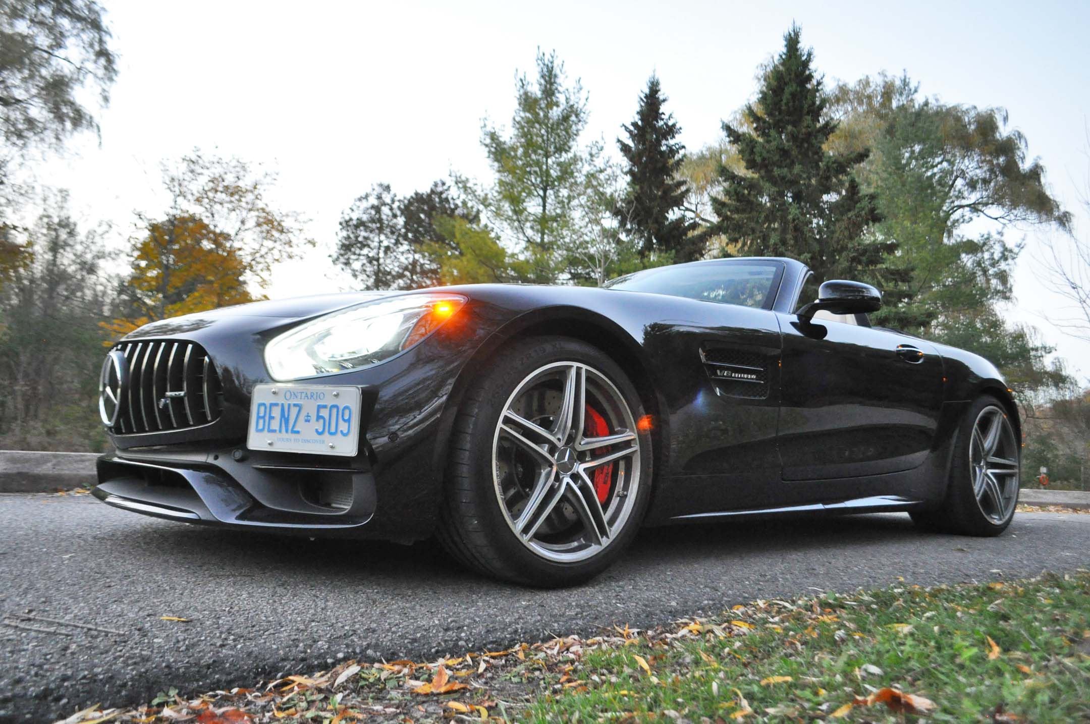 2018 Mercedes Amg Gt C Roadster Test Drive Review