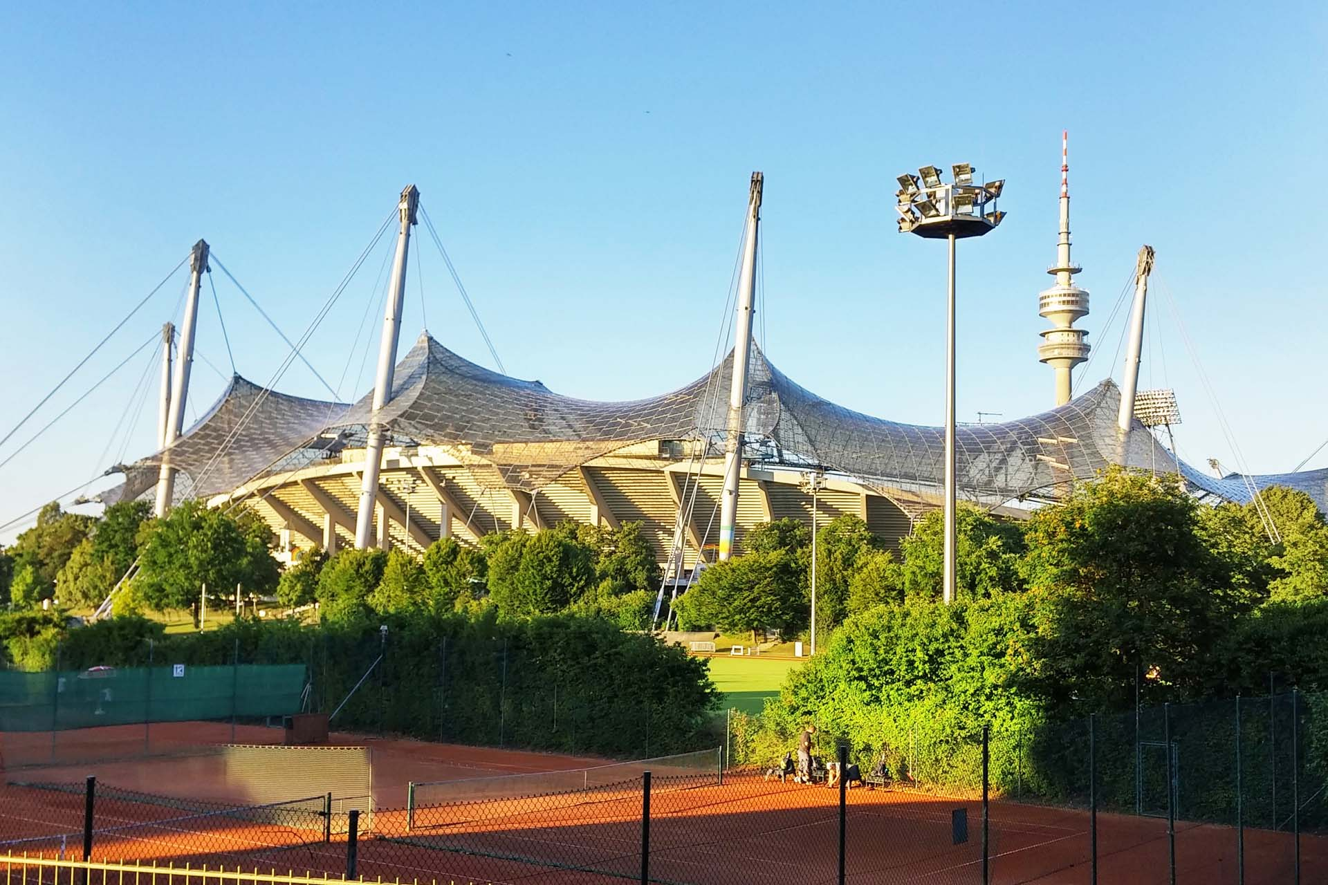 Munich's Olympiapark – Olympic Park from 1972 Summer Olympics