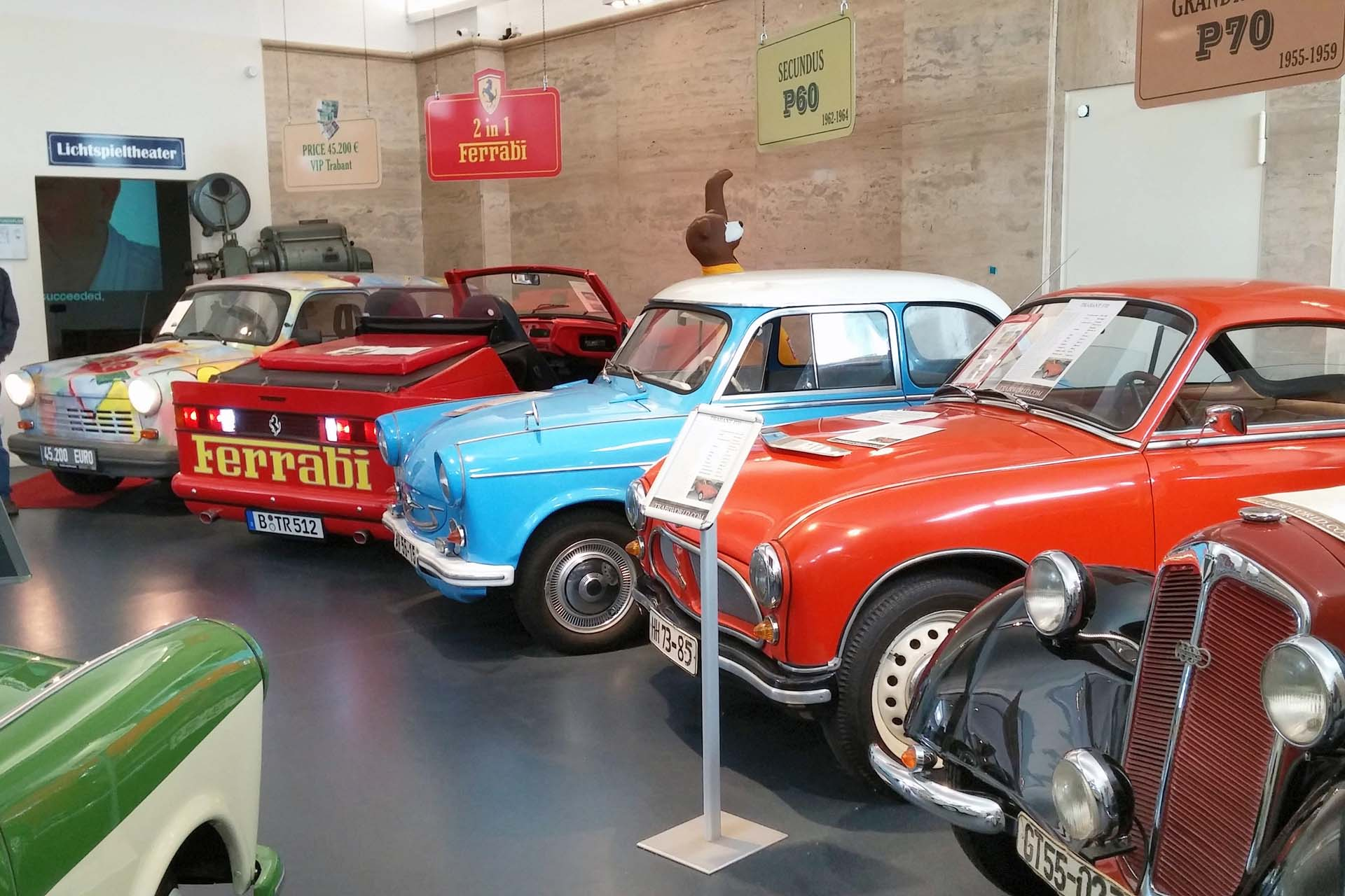 Berlin's Trabi Museum