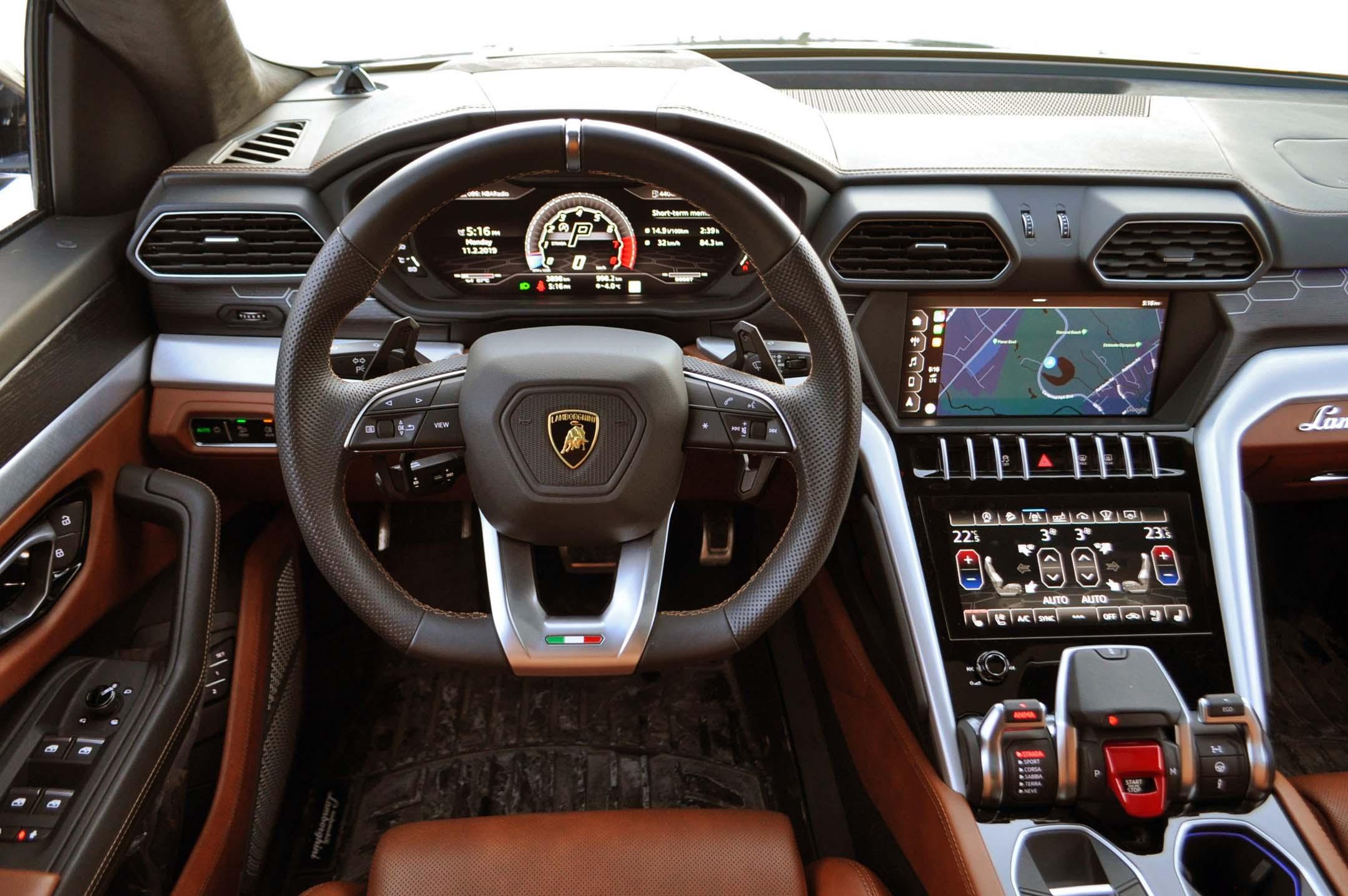 2019 Lamborghini Urus Test Drive Review