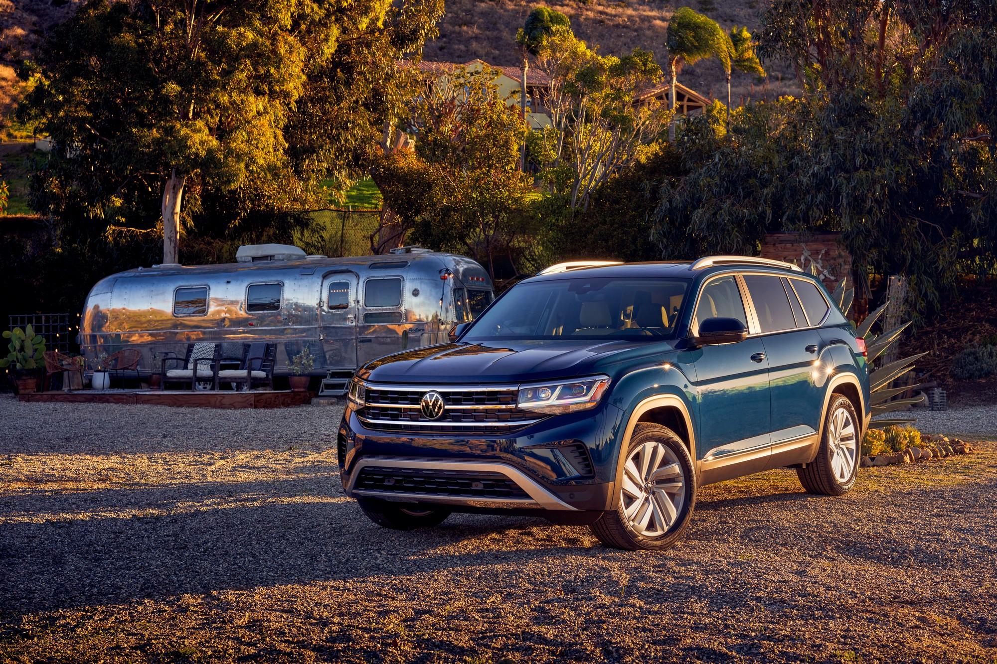 2021 Volkswagen Atlas Refreshed Gets Standard Awd Autotrader Ca