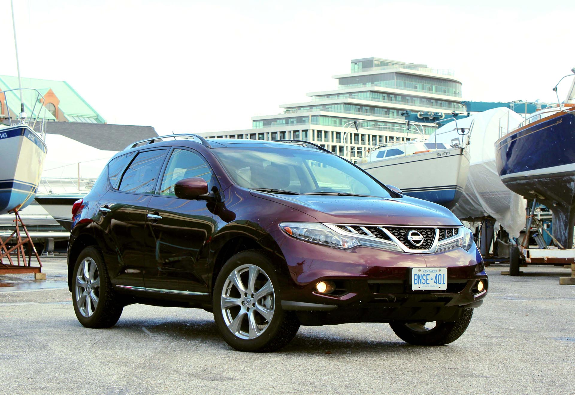 Used Nissan Murano Review 2009 2014