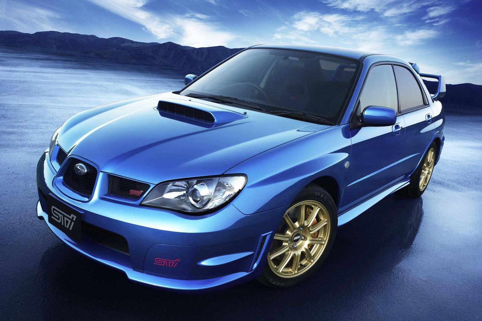 Nothing says practical speed like a Subaru WRX. You've got your all-wheel-drive for poor weather conditions, your four doors for schlepping around the kids, a usefully-sized trunk for cargo duty, and decent visibility. Also, giant wing and hood scoop. Because racecar.